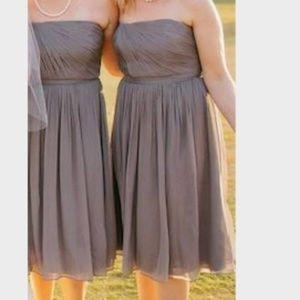 J. Crew Bridesmaid Chiffon Silk Dress Size 6